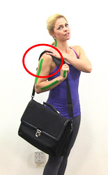 Picture A - I use a shoulder bag
